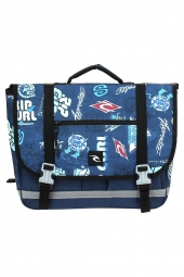 cartable rip curl bbpja4 heritage logo cartable bleu