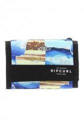 portefeuille rip curl bwujw2 poster surf bleu