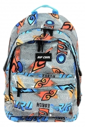 sac a dos rip curl bbpul2 double dome brush stoke gris