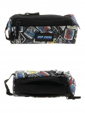 trousse rip curl butcm4 woven pencil case 2c noir
