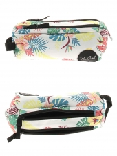 trousse pour fille rip curl lutgf1 pencil case 2p flora blanc