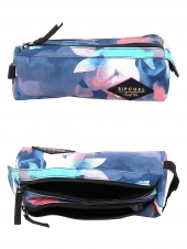trousse pour fille rip curl lutgi1 pencil case 2p watercam bleu