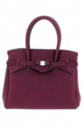 sac a main save my bag 10204 miss lycra bordeaux