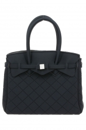 sac a main save my bag 10204 miss lycra limited ed noir