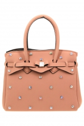 sac a main save my bag 10204 miss lycra limited ed rose