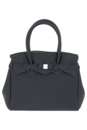 sac a main save my bag 10204 miss lycra metallics noir