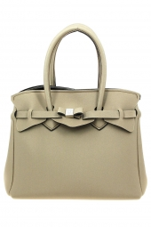 sac a main save my bag 10204 miss lycra metallics taupe