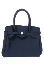 sac a main save my bag 10204 miss lycra metallics bleu