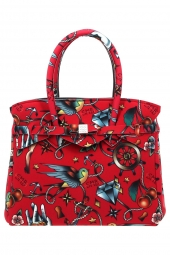 sac a main save my bag 10204 miss lycra printed rouge