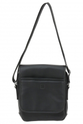 sac bandouliere serge blanco quinze man13011-ipad-2 zip-manhattan noir