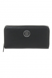 compagnon tommy hilfiger aw0aw05191 th core za wallet noir