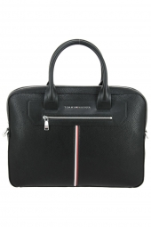 porte-documents ordinateur tommy hilfiger am0am07216 downtown noir
