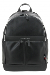 sac a dos tommy hilfiger am0am03585-th backpack noir
