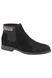 bottines fashion tommy jeans en0en00605 noir