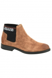 bottines fashion tommy jeans en0en00605 marron
