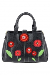 sac a main vendula v90021911 new poppy-poppy noir