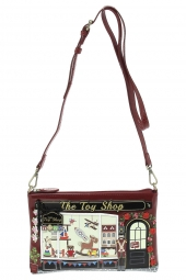sac vendula k48431131 the toy bag bordeaux